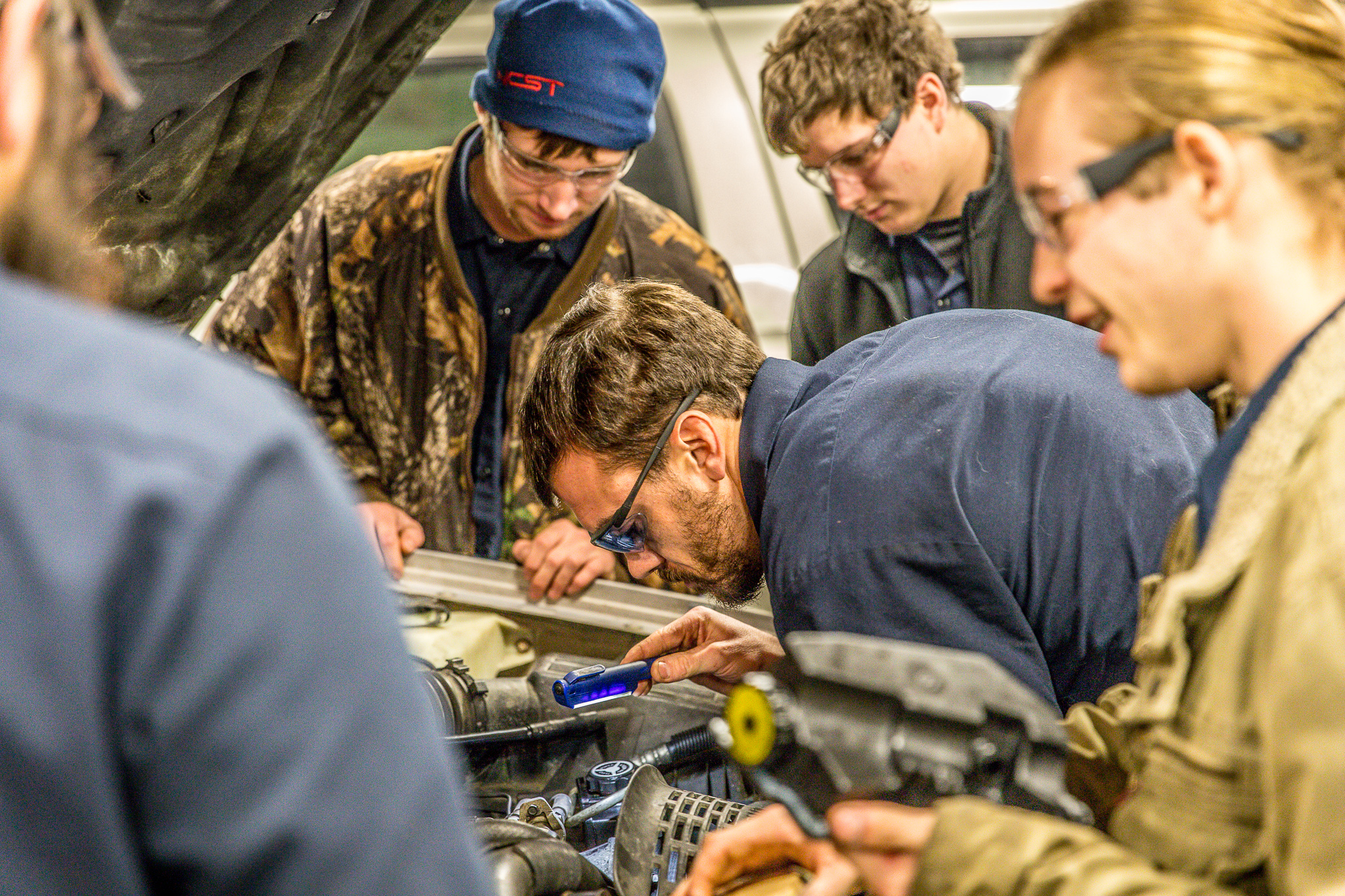 best automotive technology schools  | new castle school of trades