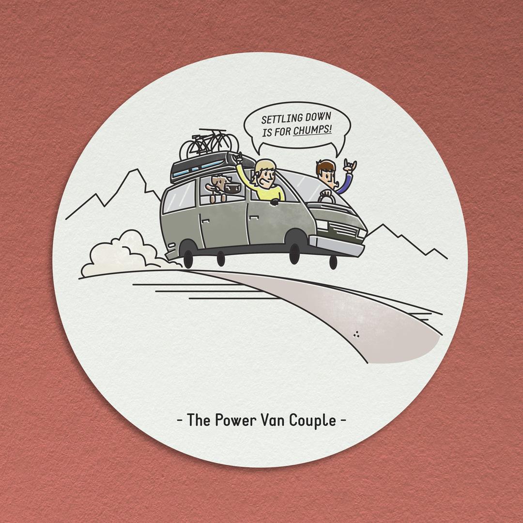 The Power Van Couple