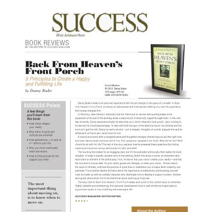 Featured in Success Magazine