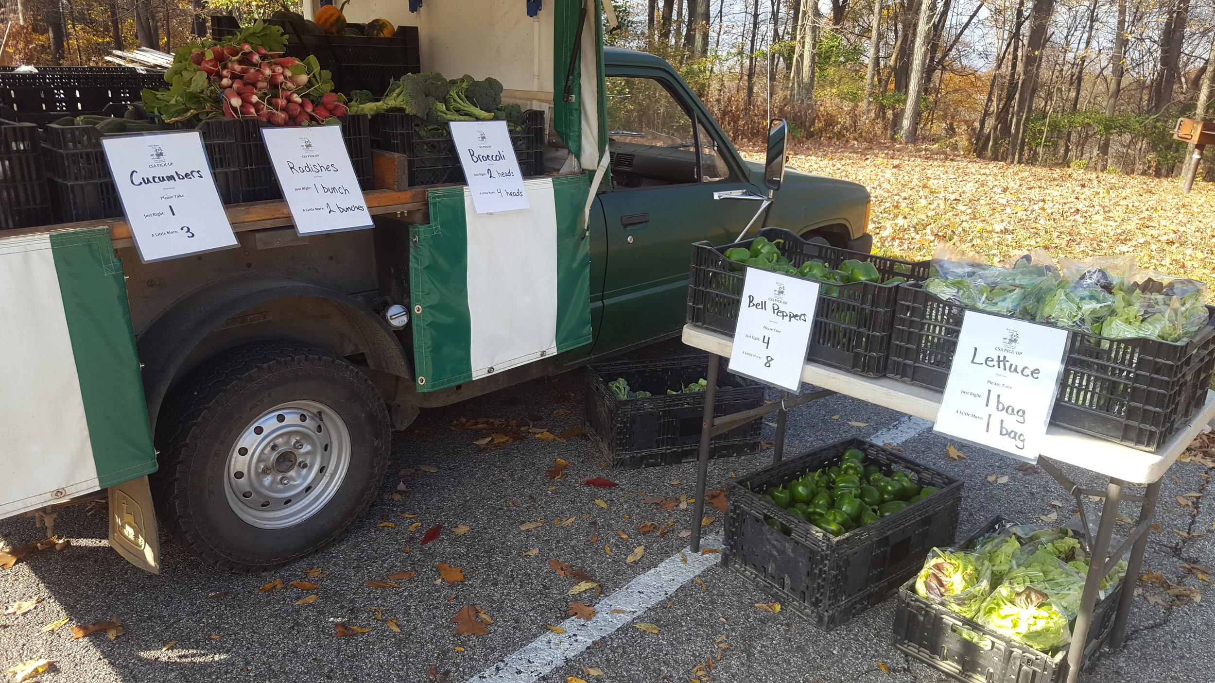 Our trusty farm truck!