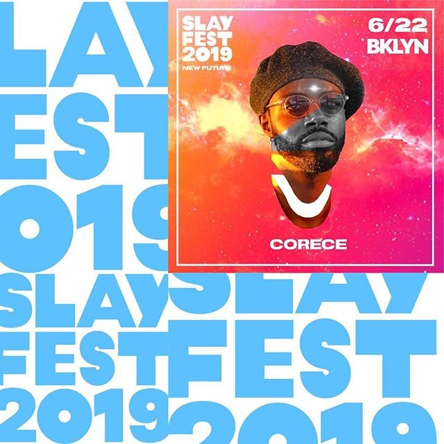 I'm thrilled to be performing at #slayfestival2019 along with some amazing artists. It's happening all week so check out @slaytv for tickets to my performance at @brooklynacademyofmusic  and all of the other events.