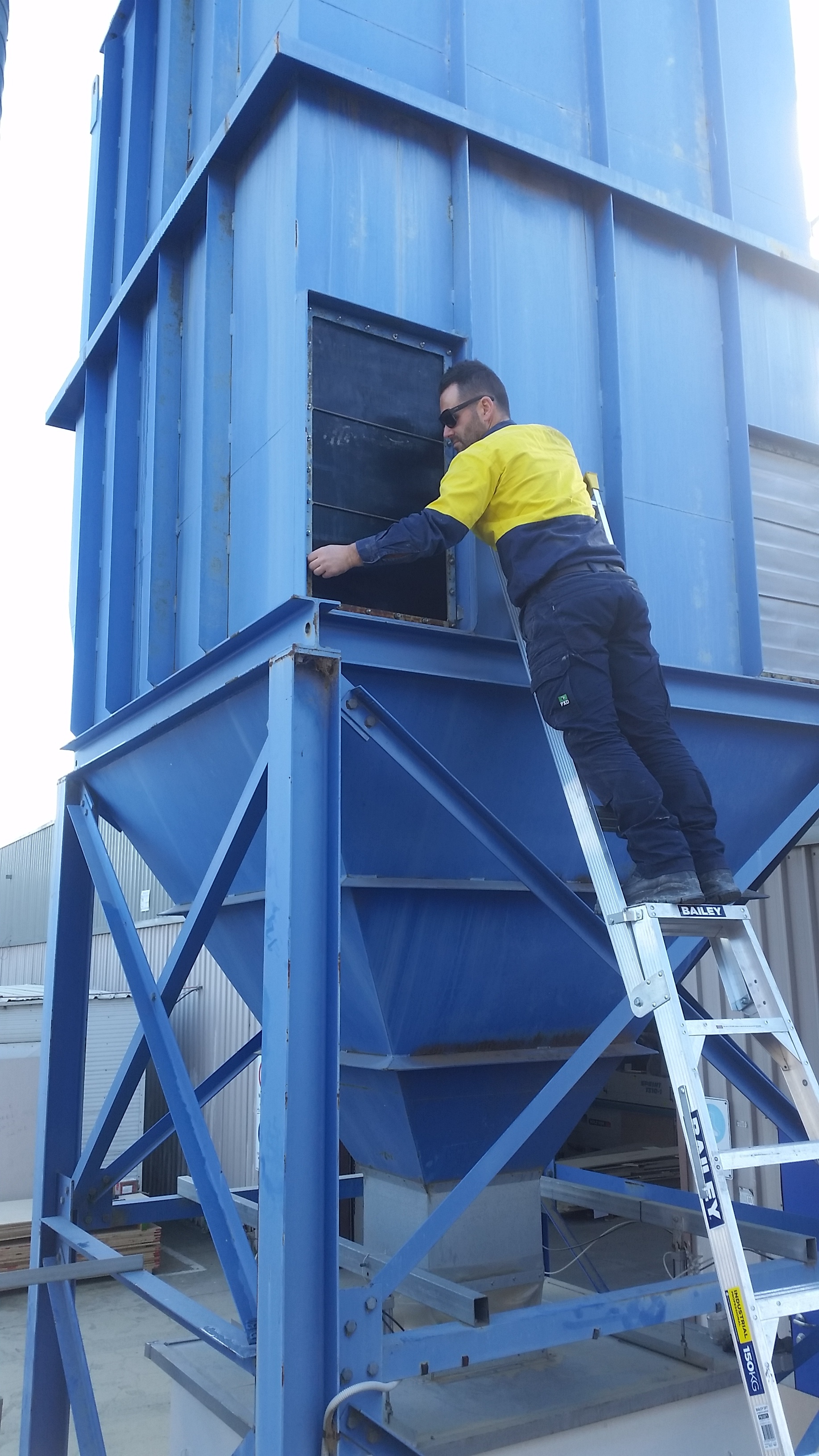 Dust collector repairs