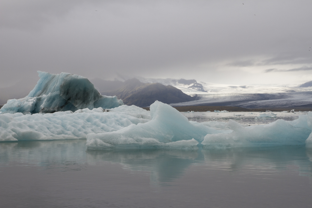 Icebergs  Framed: Landscape, Black Box Gallery, OR