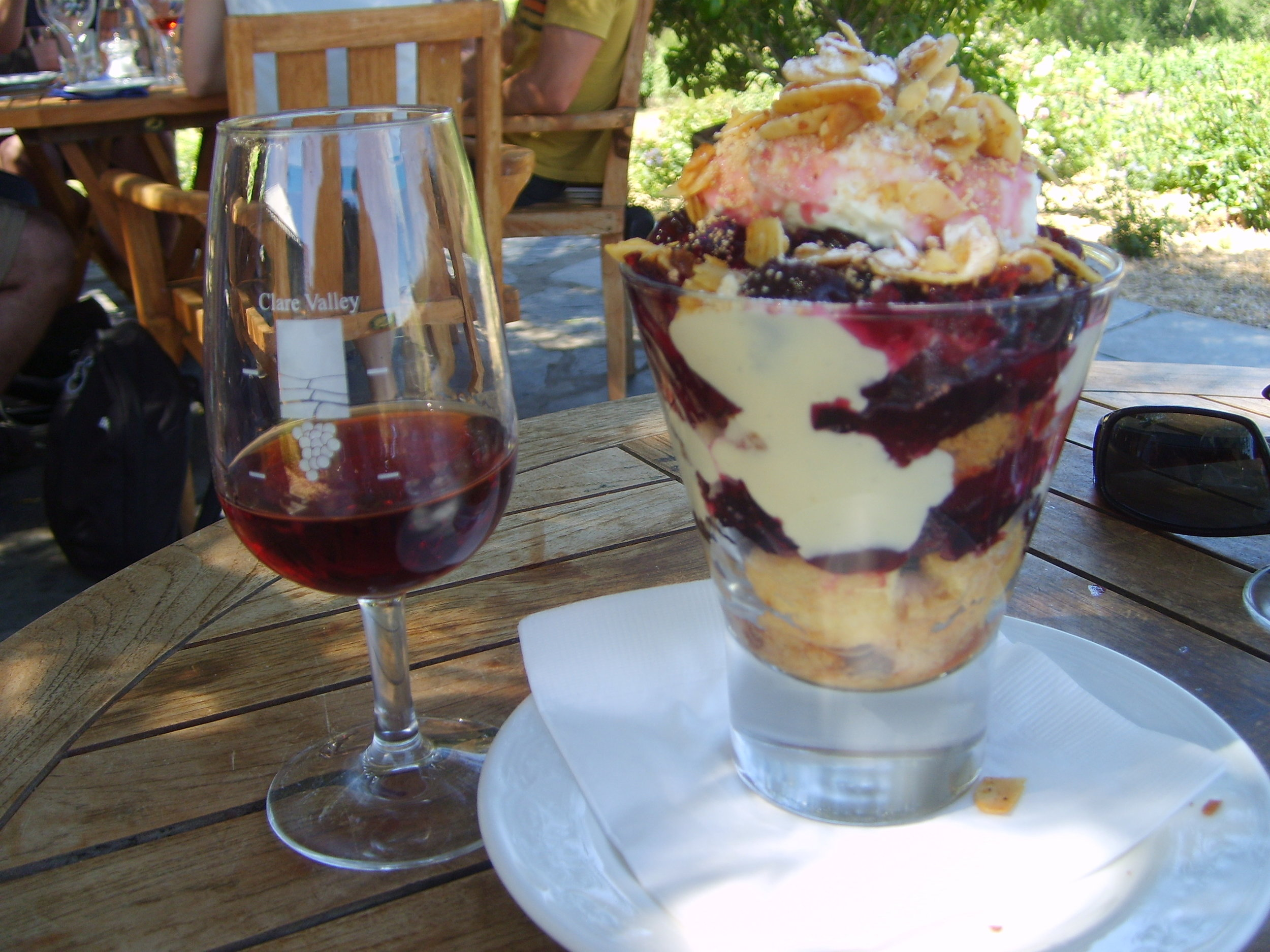 Skillogallee Trifle with liqueur Muscat, Clare Valley, South Australia