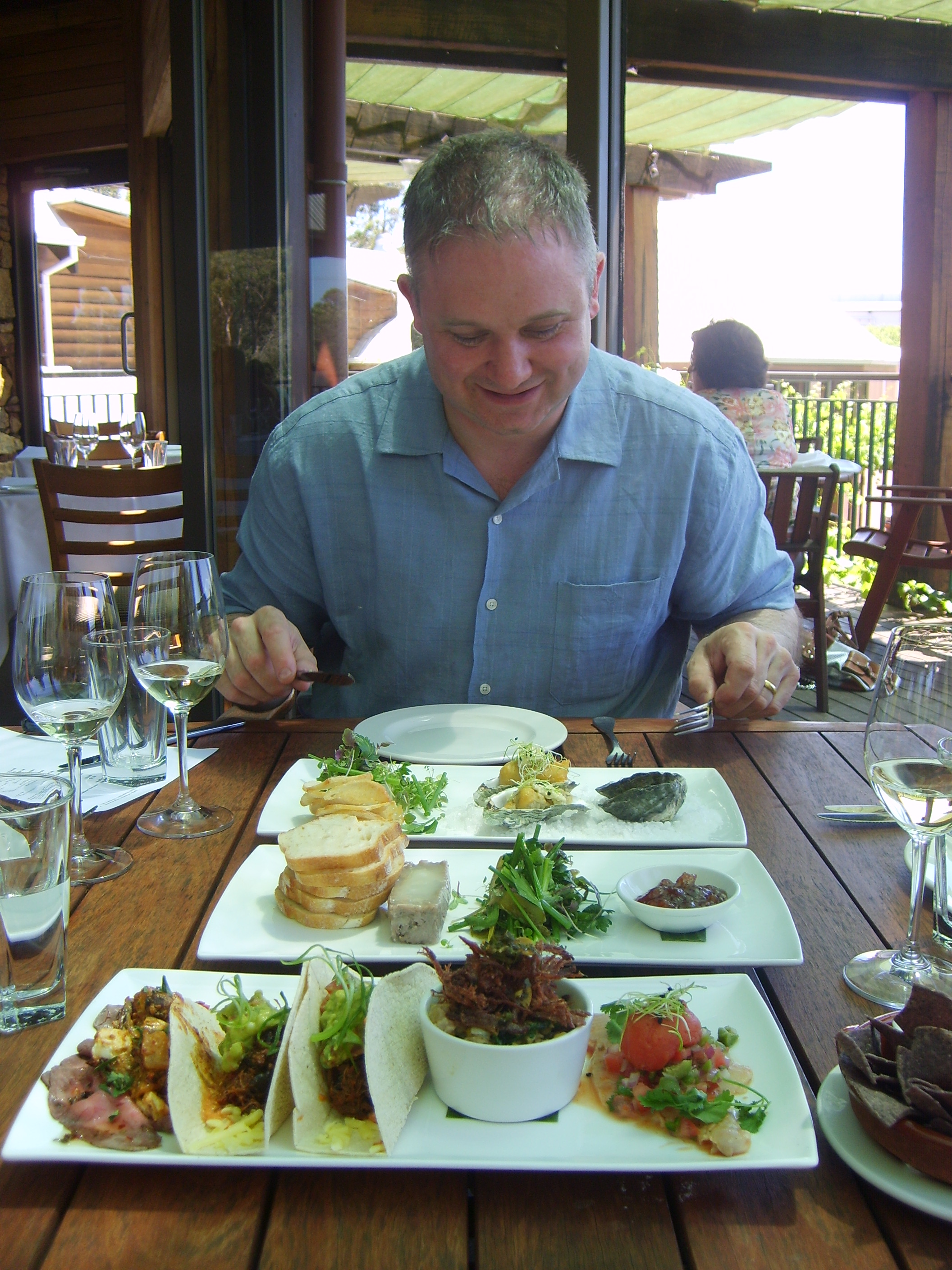 Vasse Felix, Margaret River, Western Australia - the world's best cellar door restaurants?