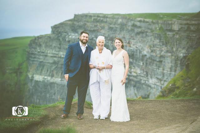 Cliffs of Moher Wedding Outdoor