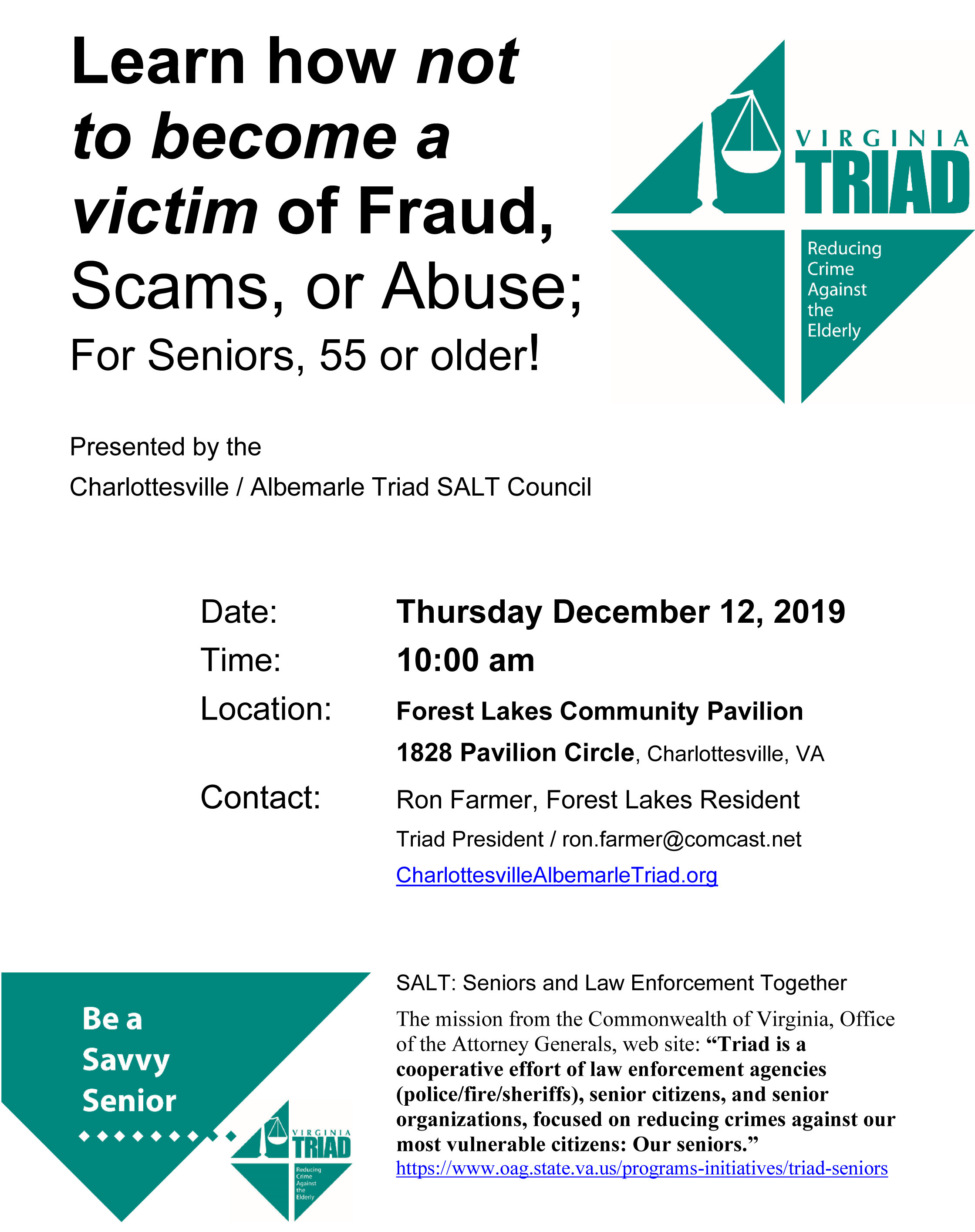 learn how not to be a victim of frauds and scams albemarle county sheriff s office