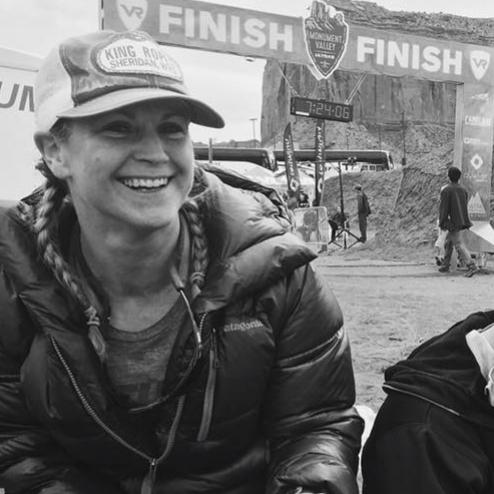 Monument Valley 50K, Top Twenty Women placement, first ultra race (2017)