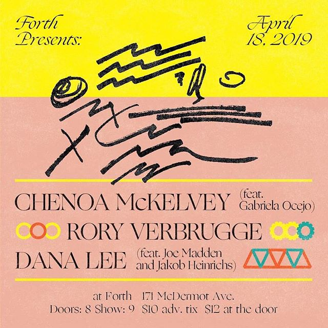 Quite excited to be a part of this show!  Sharing the night with @chatnoirmckelvey and @danaleedee at @forth_wpg  I think I'll play some new ones...