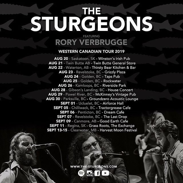 On the road again playing steel with my good friends @thesturgeons. Come hang if we're in your area.