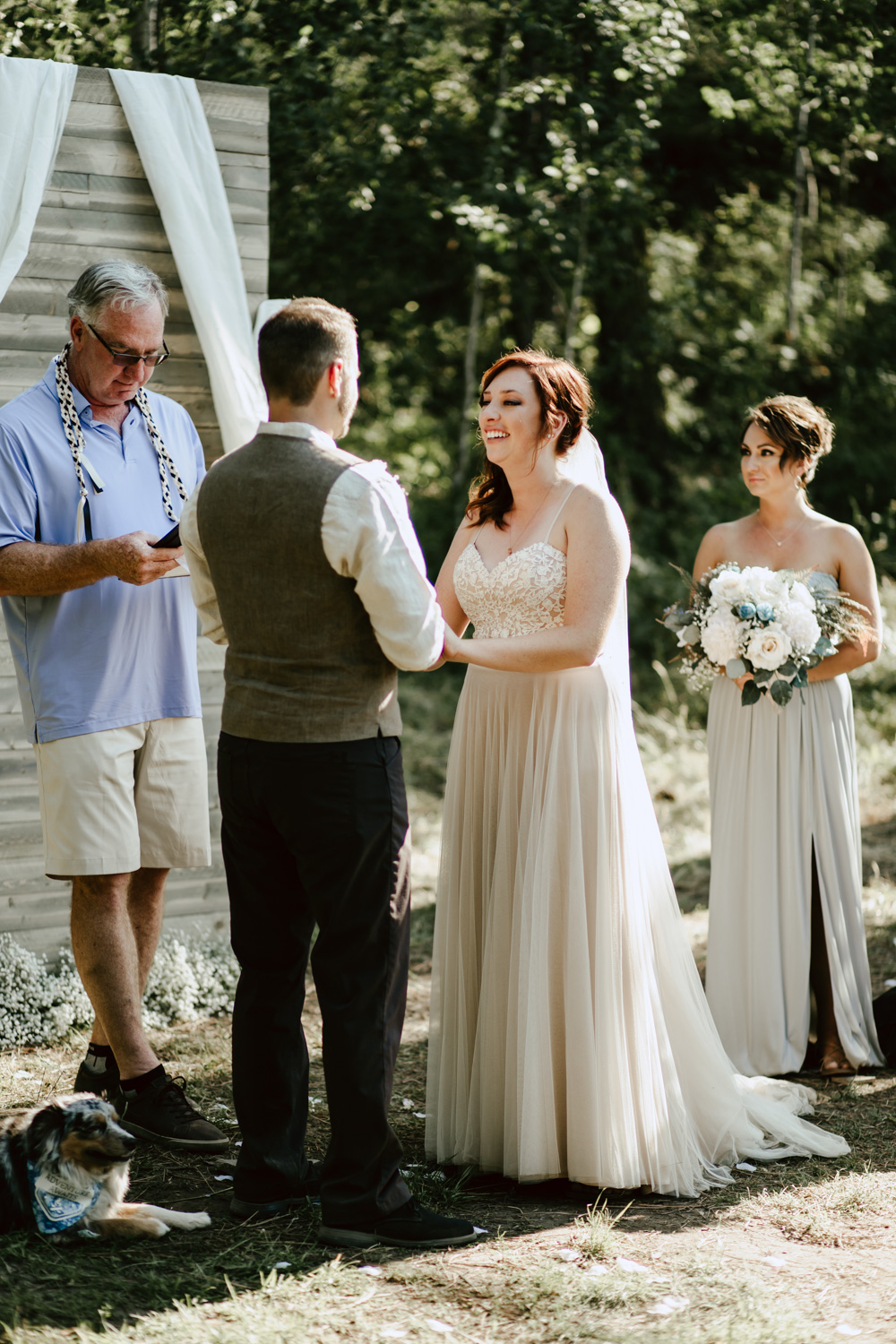 Boise Wedding and Engagement Photographer at the Lazy R Ranch for a rustic wedding.