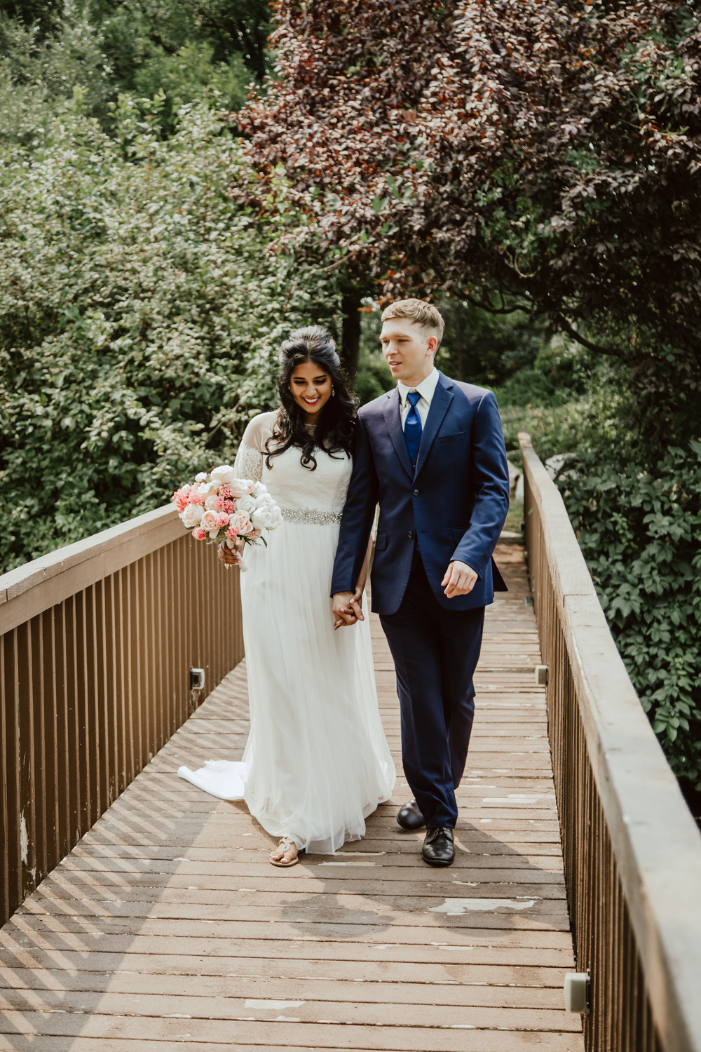 Boise Wedding and Engagement Photographer at the Alpine Pond Event Center.