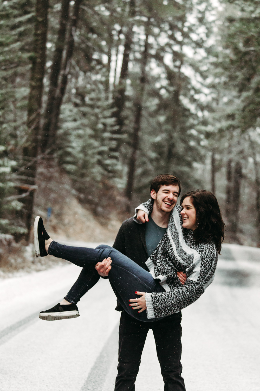 Boise Engagement and Wedding Photographer at Idler's Rest in Moscow Idaho.