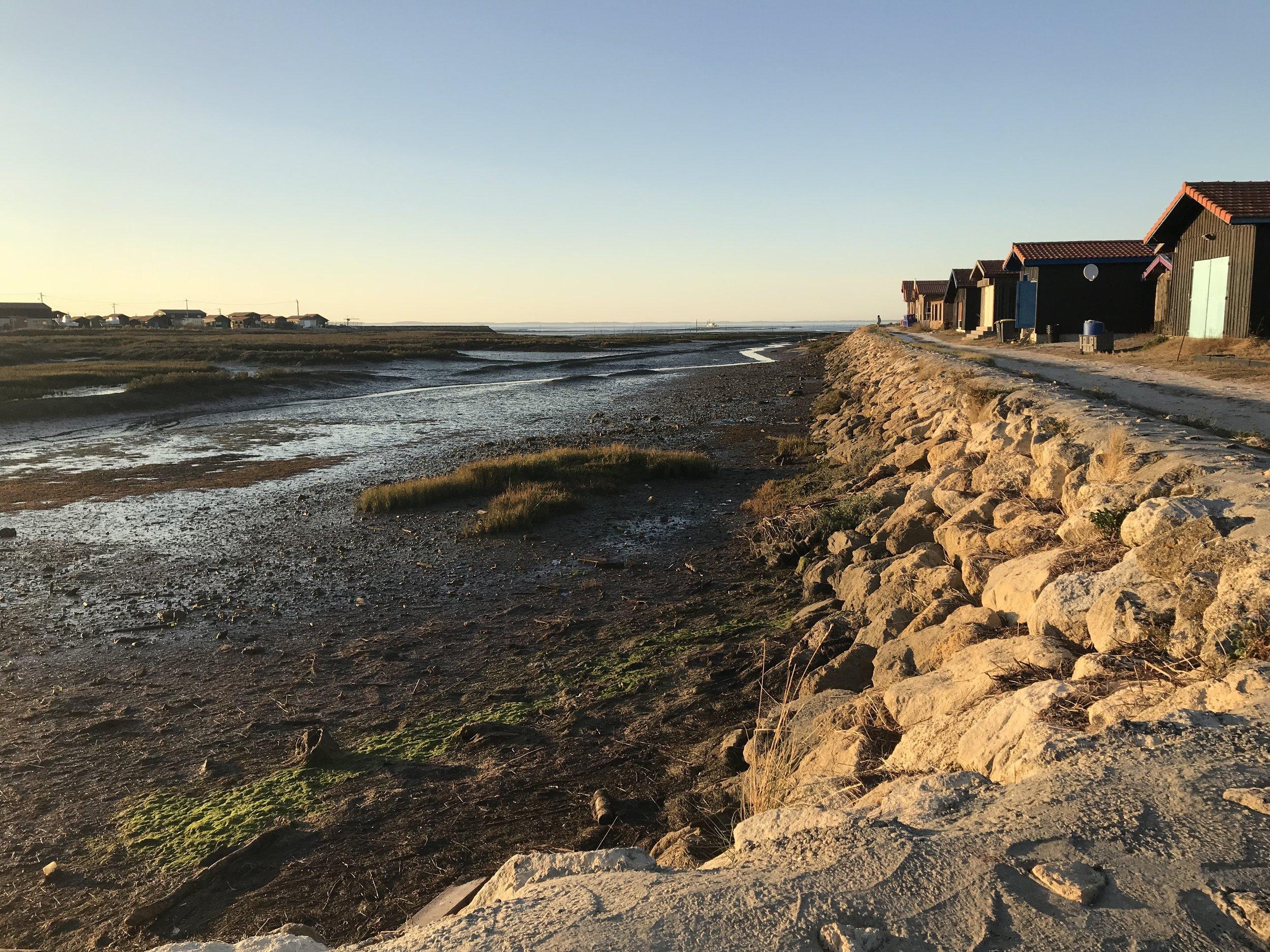Gujan-Mestras oyster huts