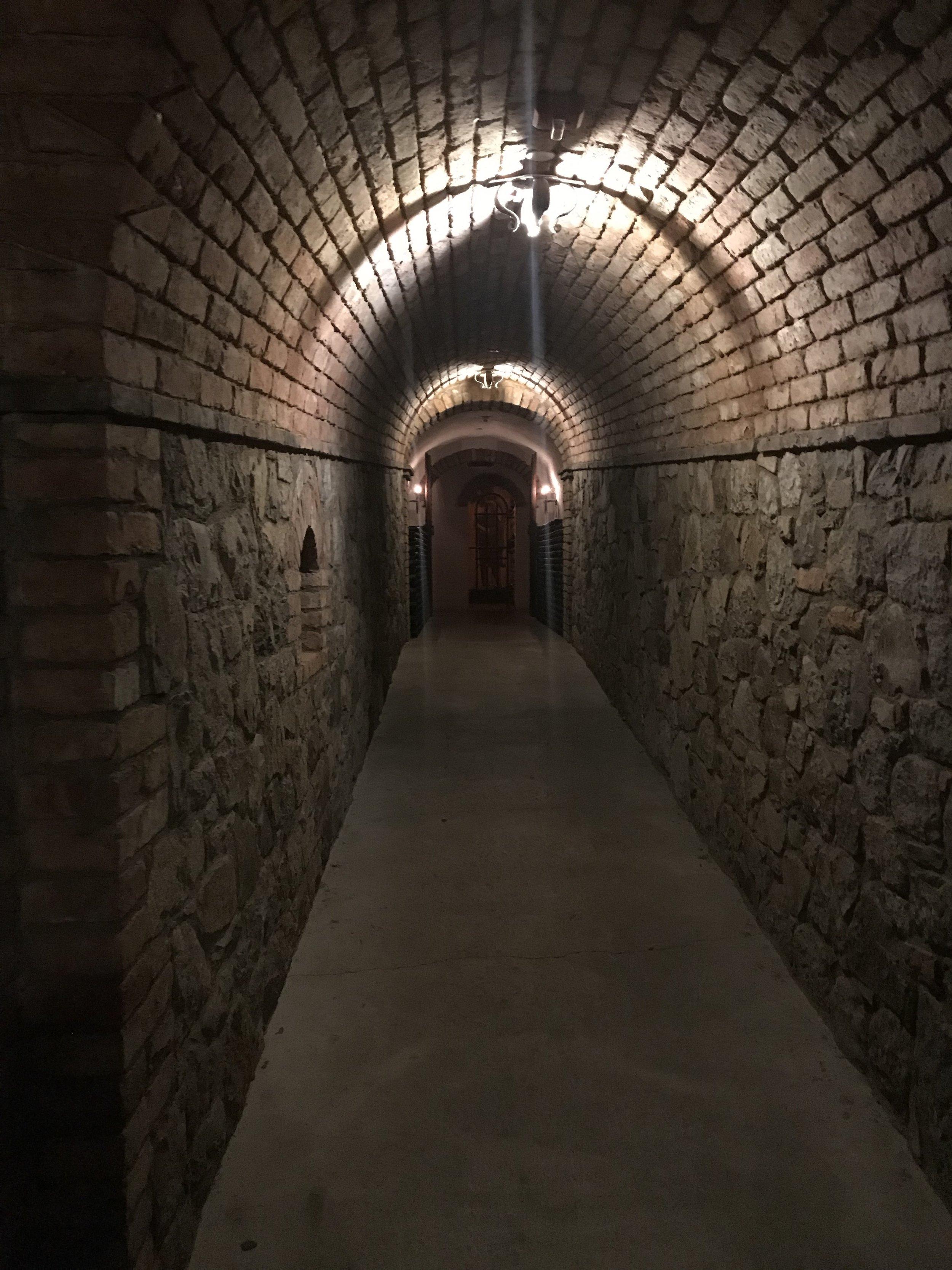 0337.  Castello di Amorosa Cellar Cave.jpg