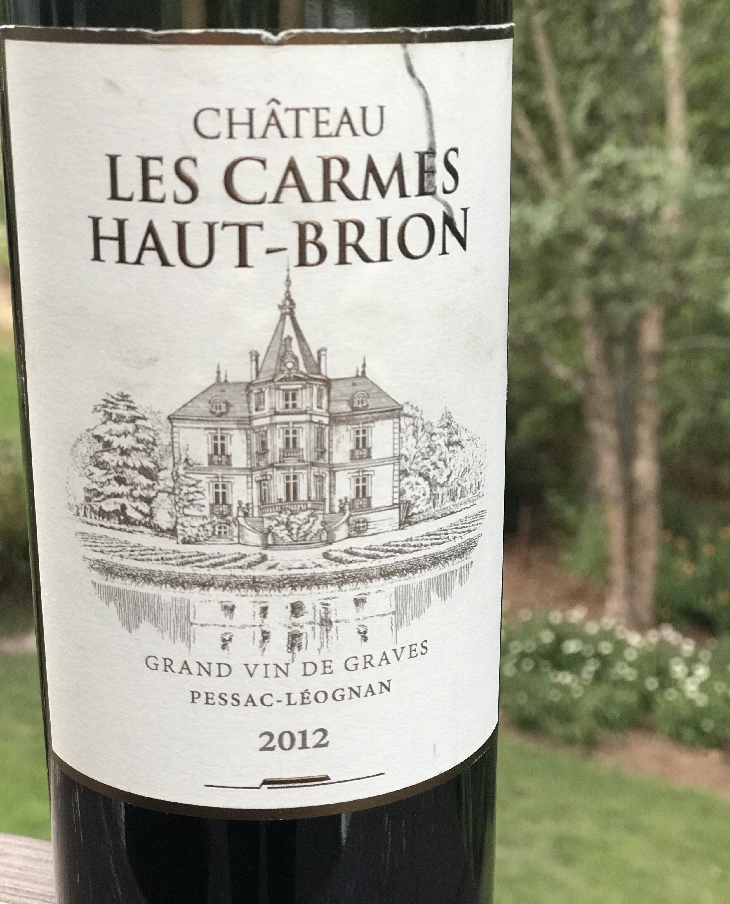 Chateau Les Carmes Haut-Brion 2012.jpeg