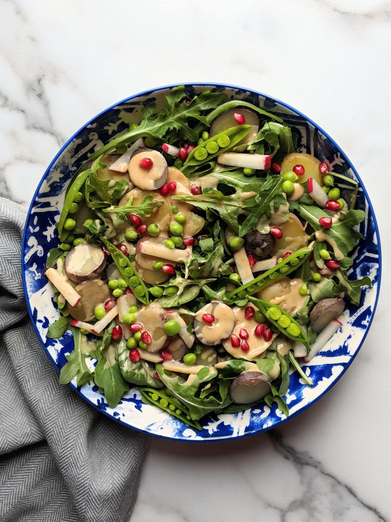 fancy potato salad