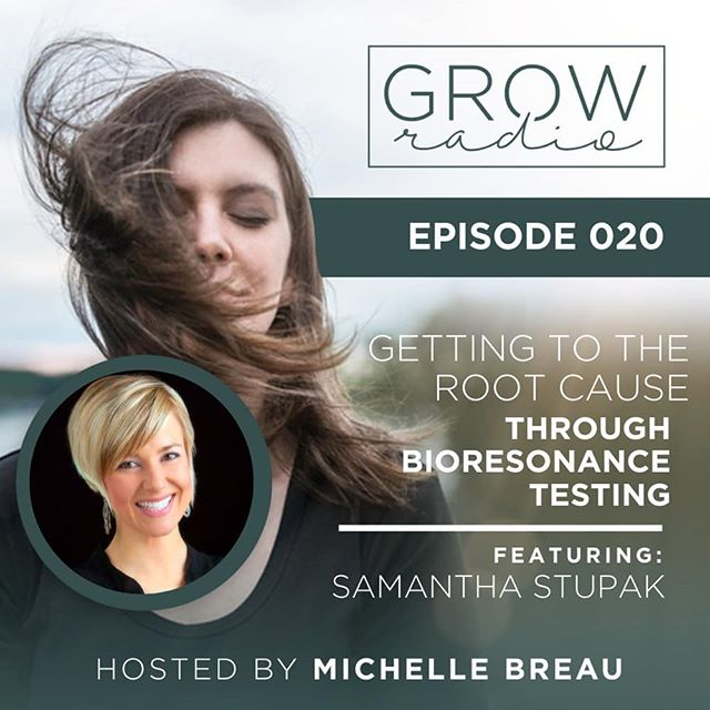 HOLY SMOKES! I have such a big treat for you guys this week on GROWradio! 🙌 🌱 . . Remember the @creatingbalancedhealth bioresonance test results I shared on my instagram stories over the last few weeks? (Its saved in my highlights if you missed it!) Well this week I was lucky enough to interview the CEO of Balanced Health herself, the lovely Samantha Stupak! 😍 Her story is amazing, her work is changing lives, and this episode is sure to inspire you about the future of holistic healthcare! 🔥 . . In this episode, we discuss: . . 🌱 What bioresonance testing is, and how it works. . . 🌱 The testing options that are found on a Balanced Health full scan (Systems, energetic food & environmental sensitivities, nutritional imbalances, toxins, & hormones) in greater detail. . . 🌱 My own personal experience in trying this form of testing as a total skeptic. (Swipe to view some of my own personal results! They are 🤯🤯🤯!) . . Head over to michellebreau.com/podcast/020 (link in bio) to find the show notes and to hear the episode! And PSST: Samantha was kind enough to hook listeners of the show up with $20 OFF as many scans as you'd like! Code is GROWRADIO of course! 🌱🙃 . . As always, be sure to snap a screenshot of the episode and share it on your stories, tagging me @iammichellebreau so I can hear your thoughts. Hit subscribe, leave a review, and share the love if you love it! 💚 . . Enjoy!