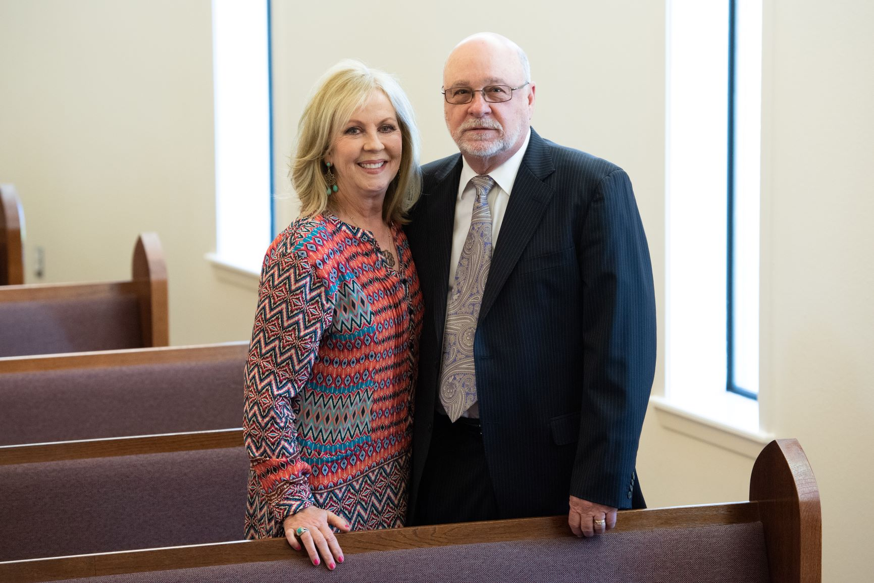 Eddie Arrington - Eddie and Sharon Arrington have worshipped at Southside since 1983. Eddie became a Deacon in 2001 and an Elder in 2007. Eddie and Sharon have lived in Jacksonville their entire lives. They married in 1977 and have two adult children, Kyle and Katie. Eddie is owner of Arrington Lumber and Pallet Co.