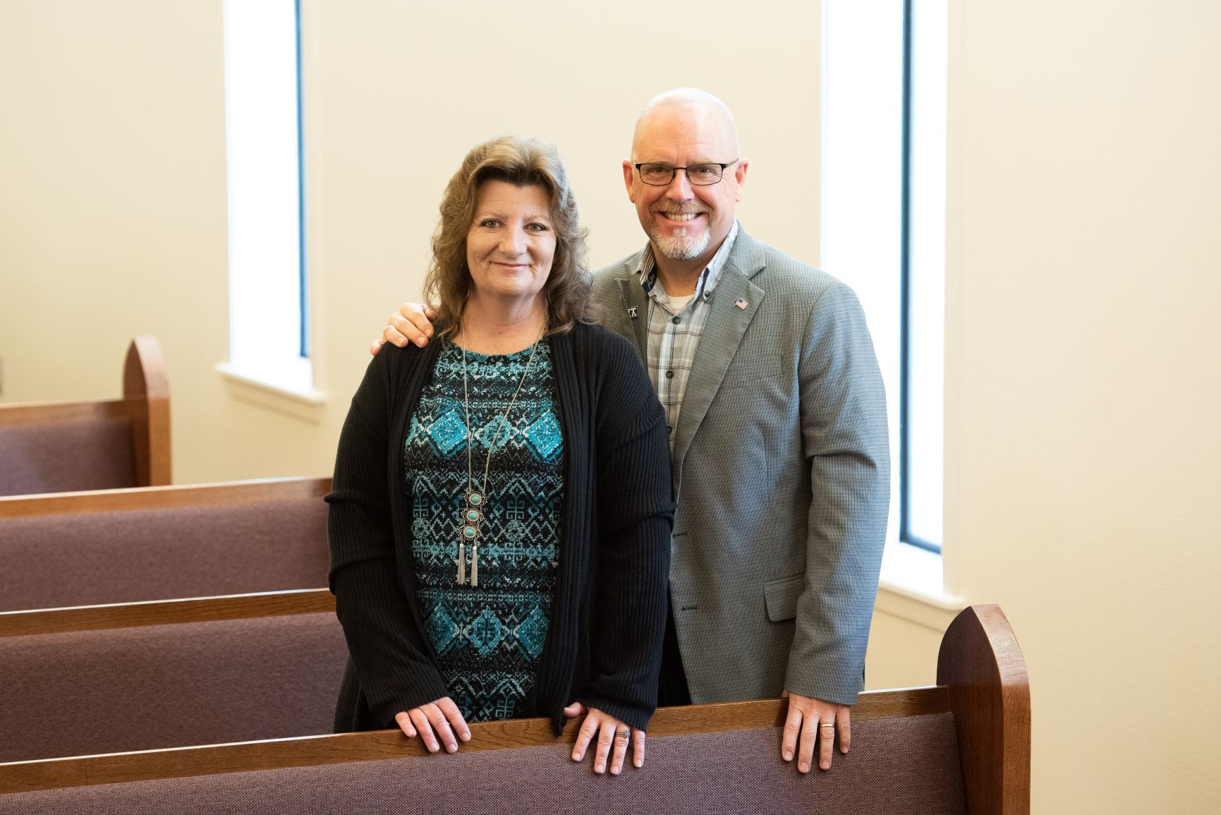 Mark Stark - Mark and his wife Judy began worshiping with the Southside congregation in 2016. He was appointed to Deacon in 2018.