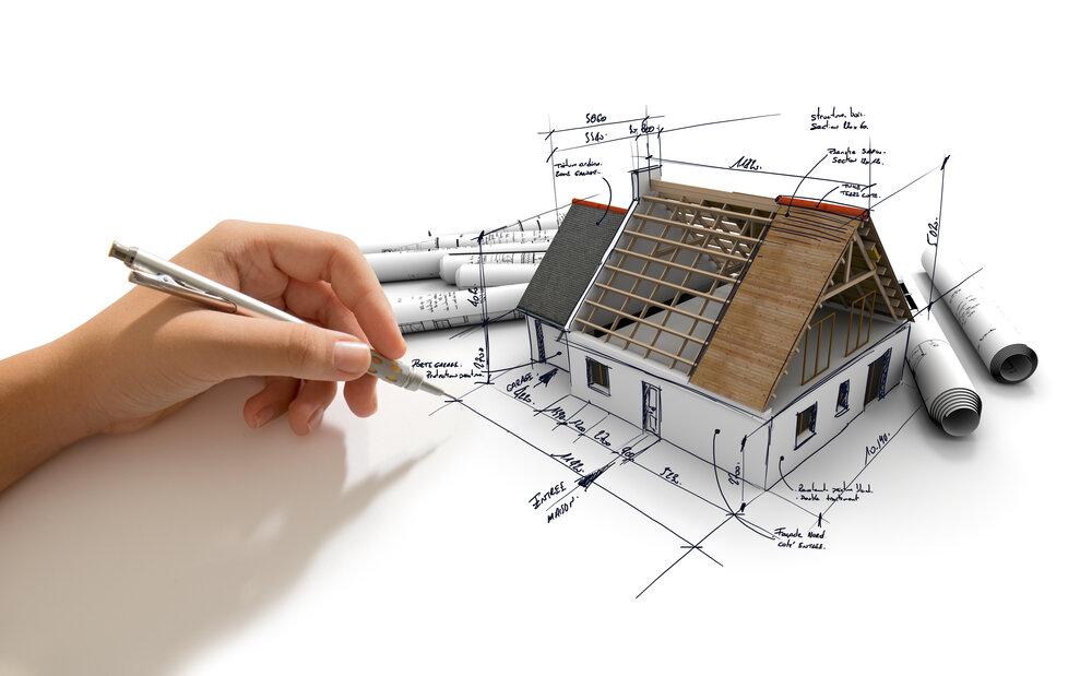 House Structural Blueprint
