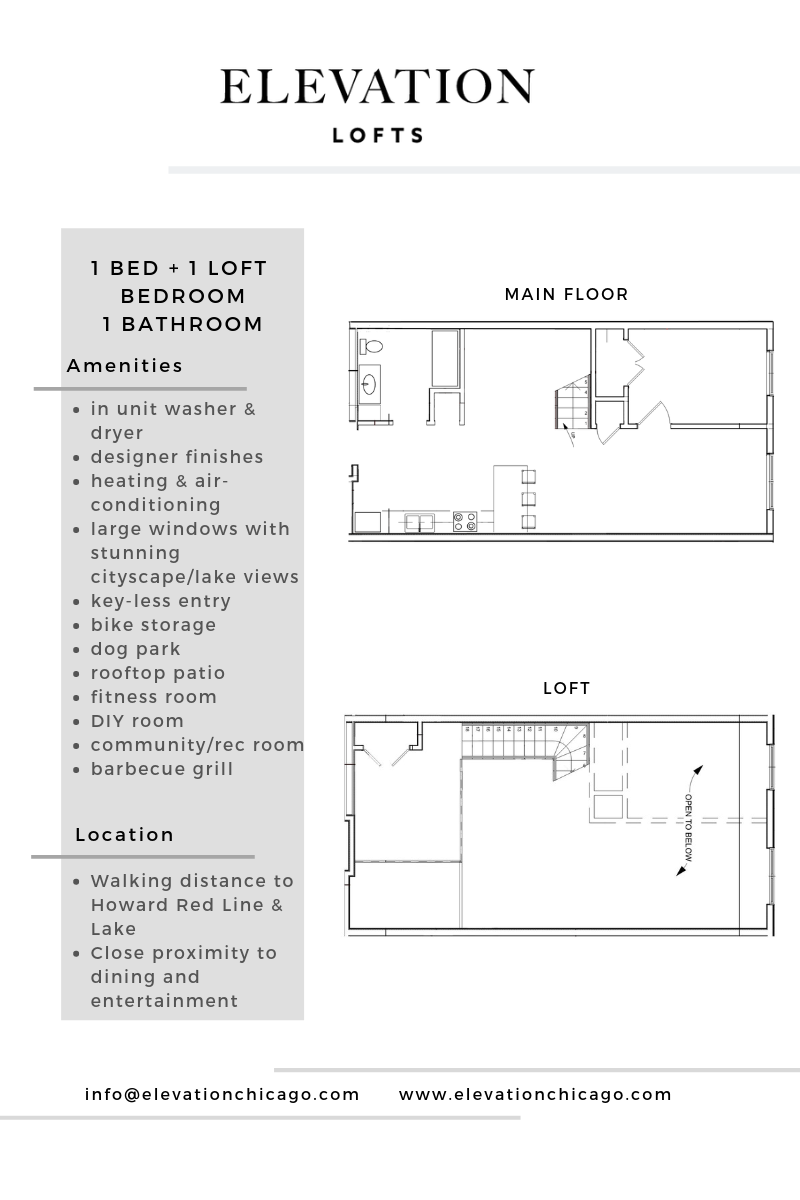 Floor Plans — Elevation Lofts
