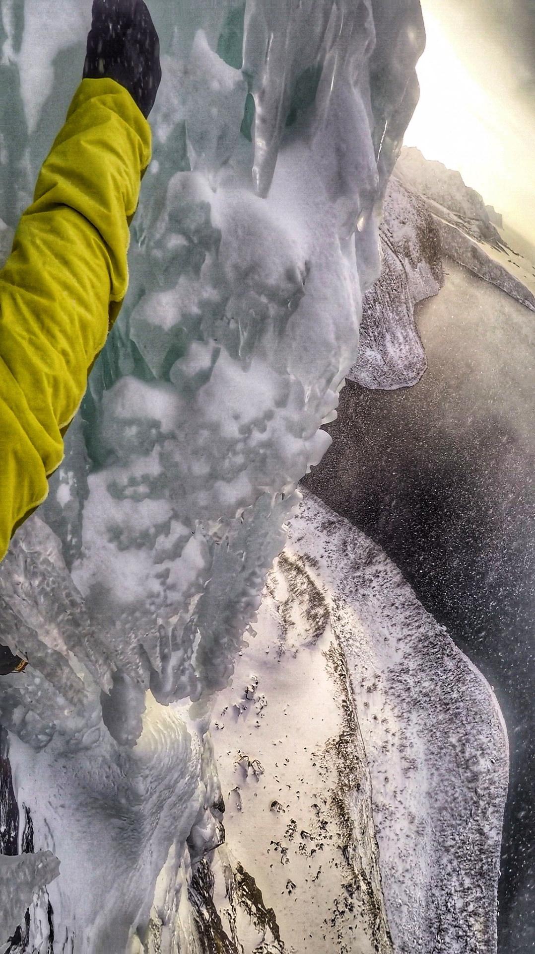 Look down on Finnkona - picture Matthias Scherer