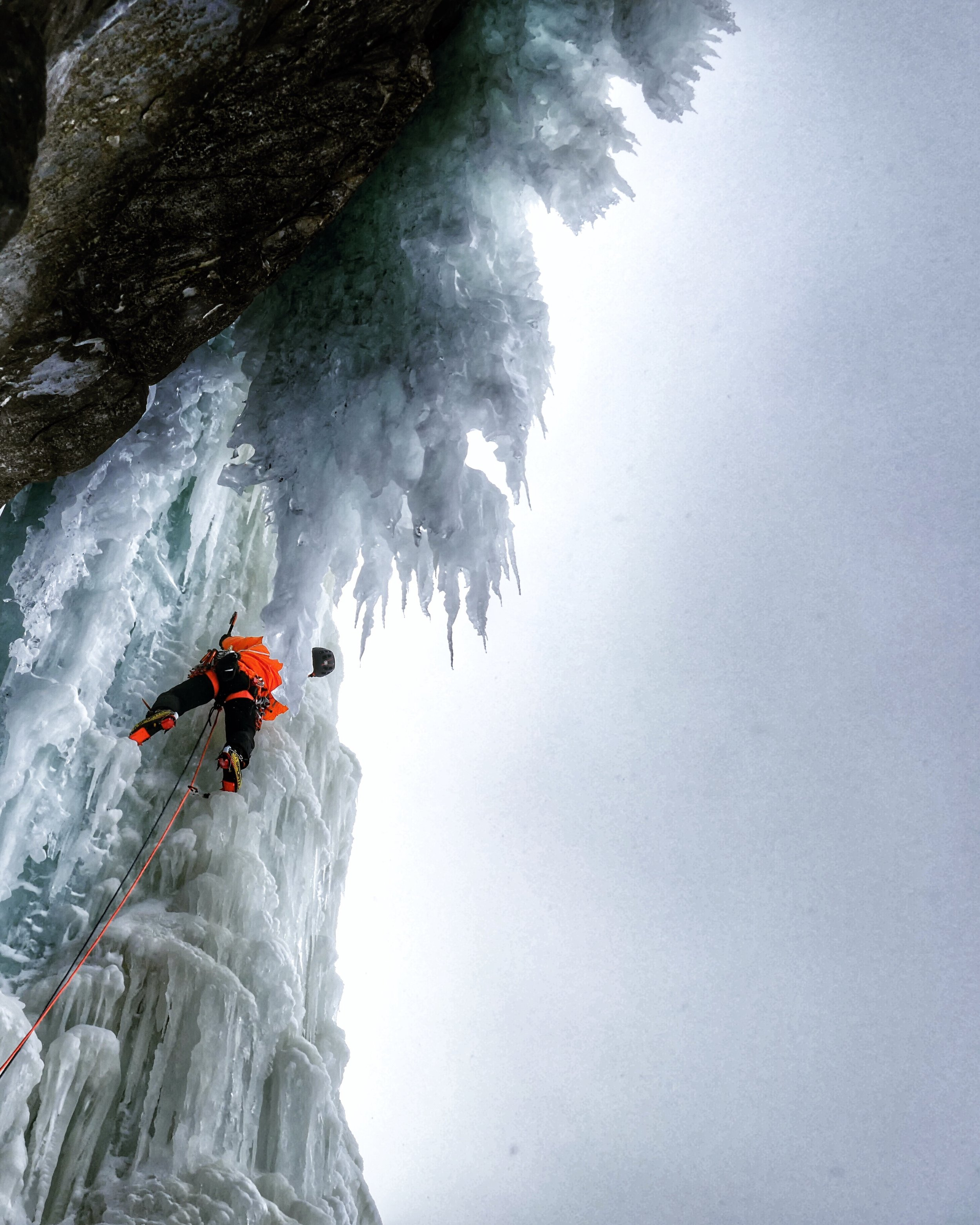 Matthias Scherer on Rubbenbekken , Troms, Norway - picture Tanja Schmitt