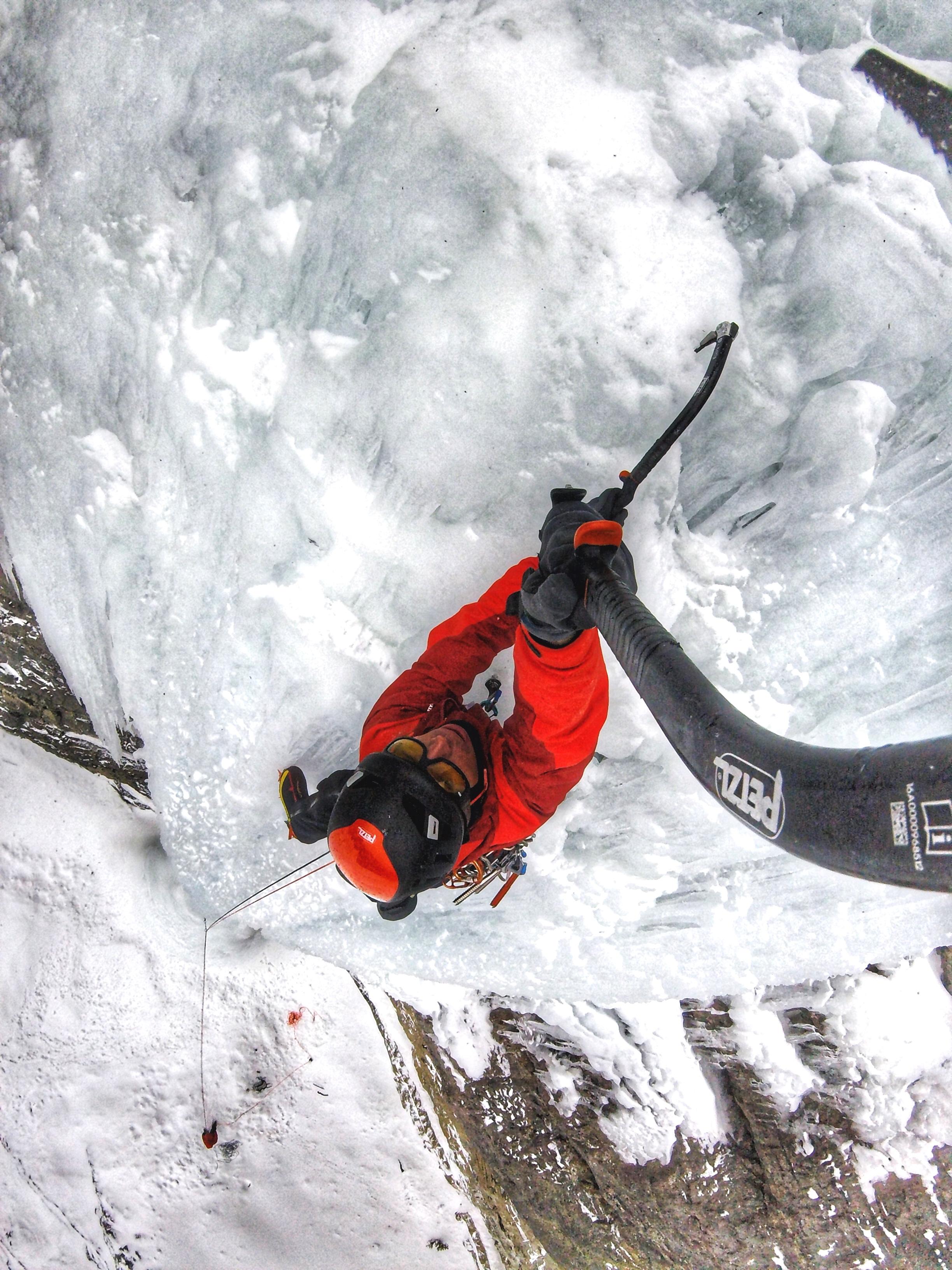 Matthias Scherer on Shooting Star November 2017, Icefieldsparkway, Canada picture Matthias Scherer