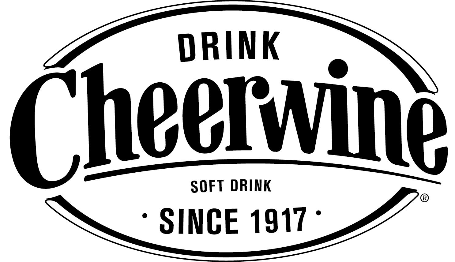 black.white Cheerwine logo.png