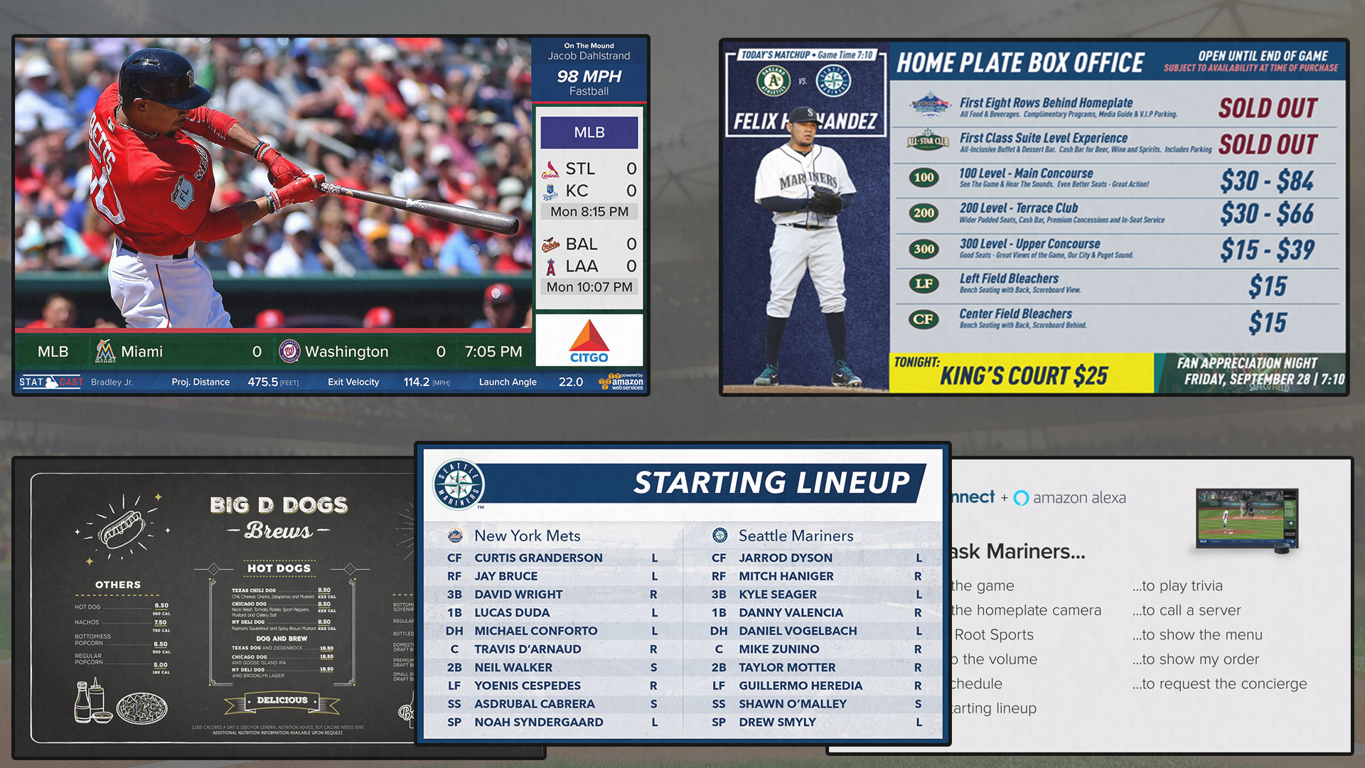 FanConnect powers screens around the MLB