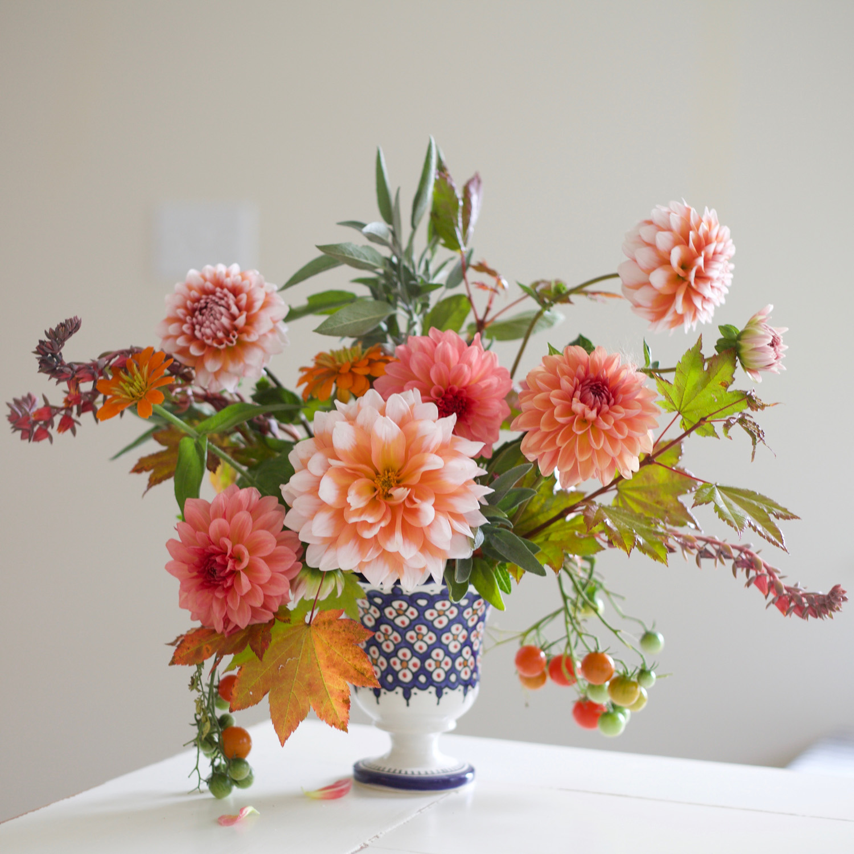 Flirty Fleurs Orange with Tomatoes.jpg