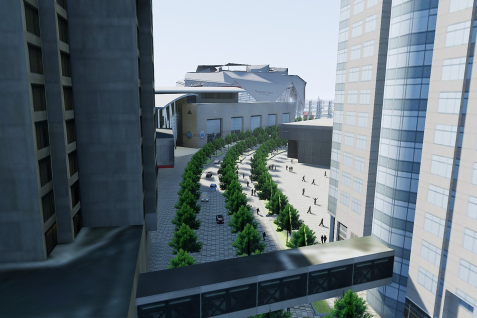 GWCC+Pedestrian+Mall