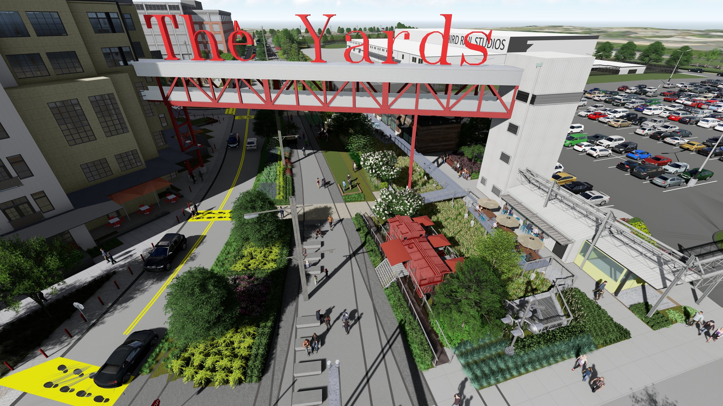The Yards at the Assembly  in Doraville, Georgia by HGOR.