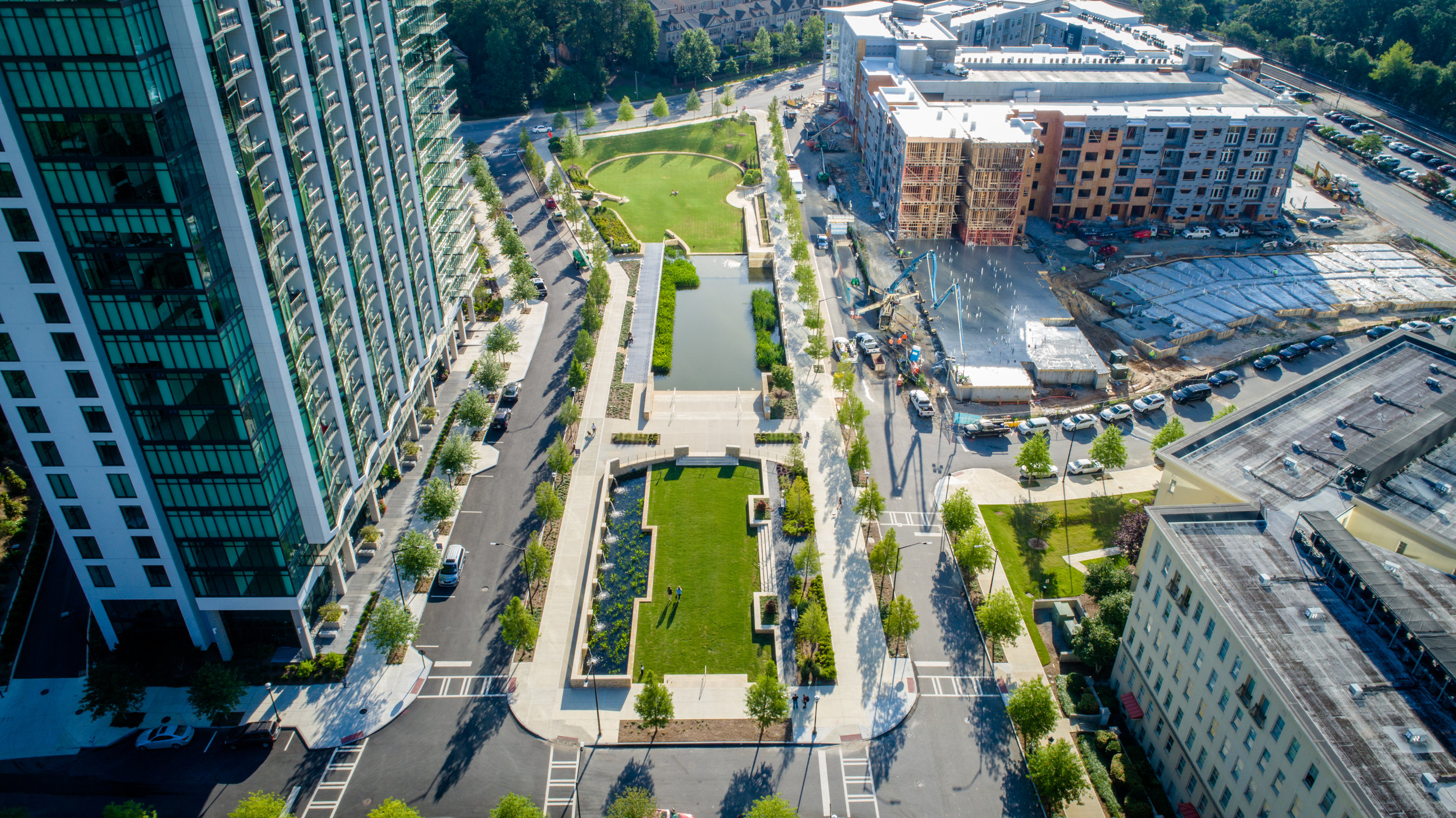 City Place/Marie Sims Park  in Buckhead, GA by HGOR. Photo by Ralph Daniel Photography.