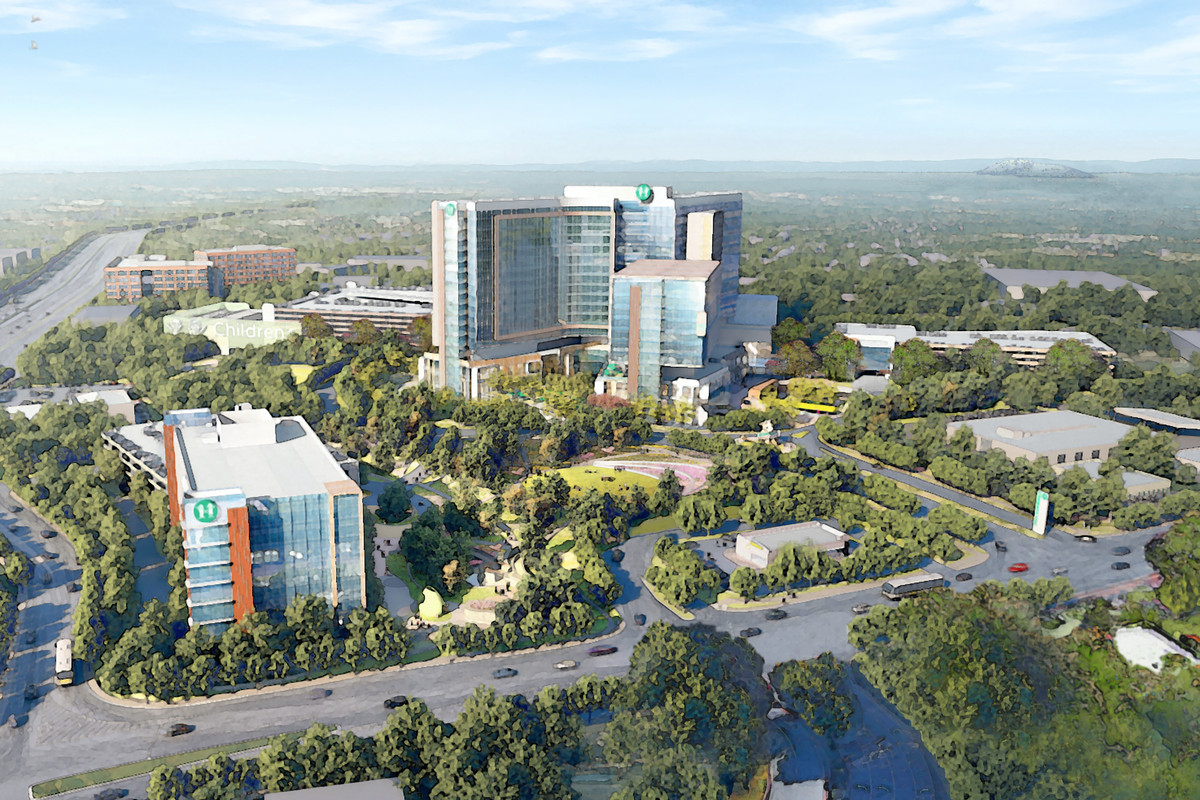 Children's Healthcare of Atlanta Master Plan, Atlanta, GA