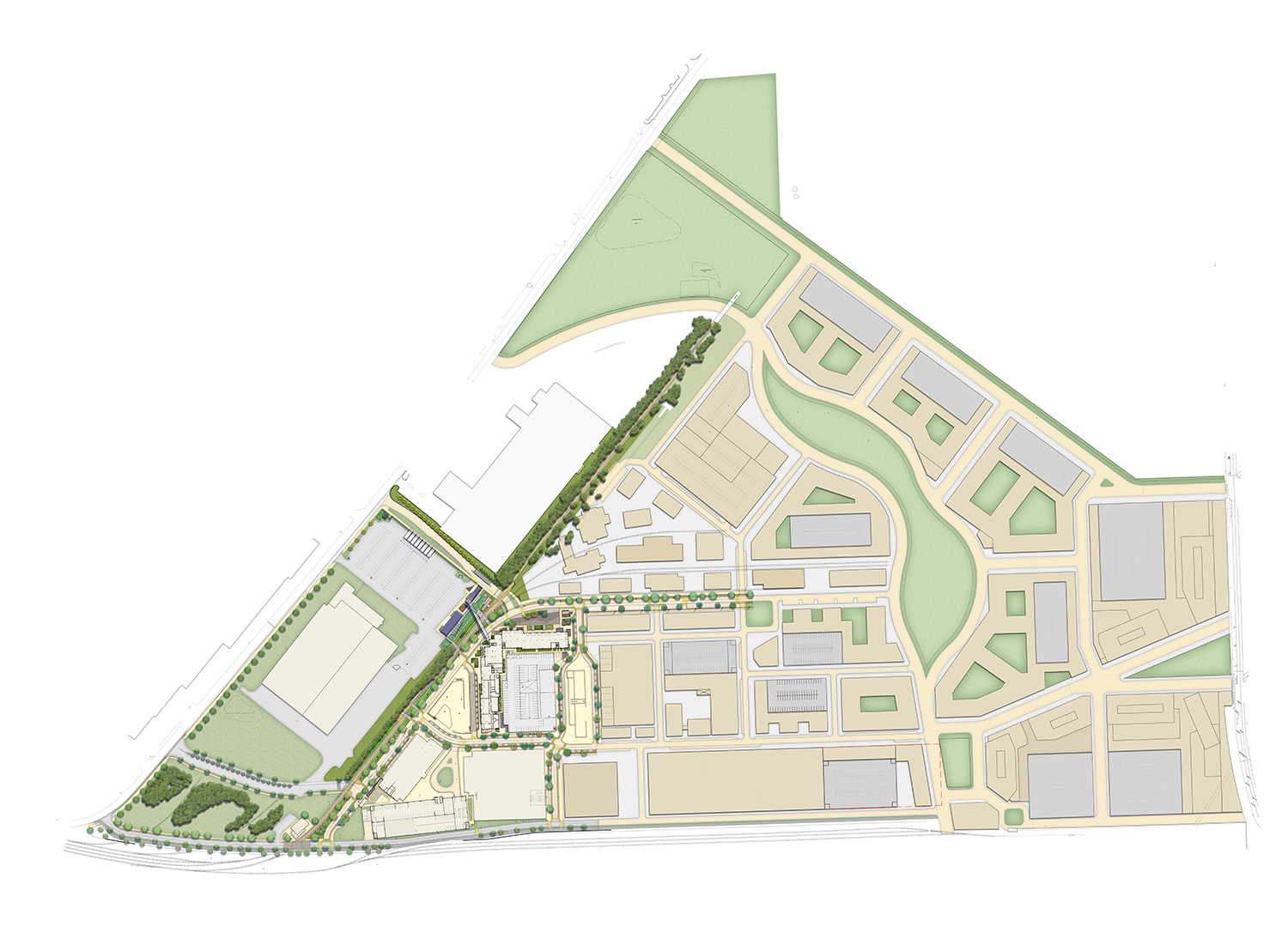The Assembly Yards Master Plan, Doraville, GA