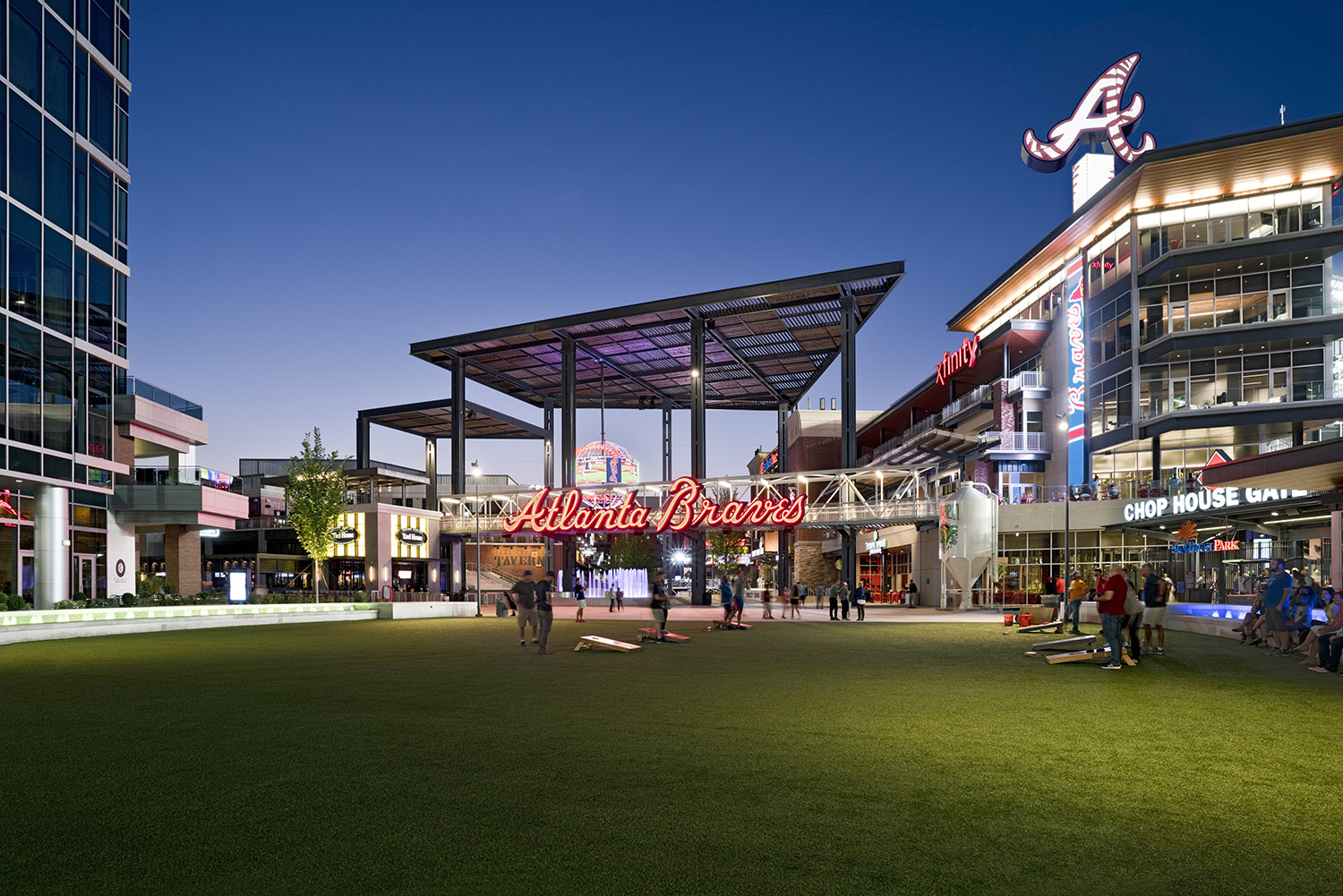 3. The Battery at SunTrust - Relocated the Home of the Braves