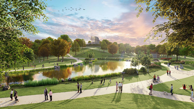 4. Westside Park - Atlanta's Largest Park in Making