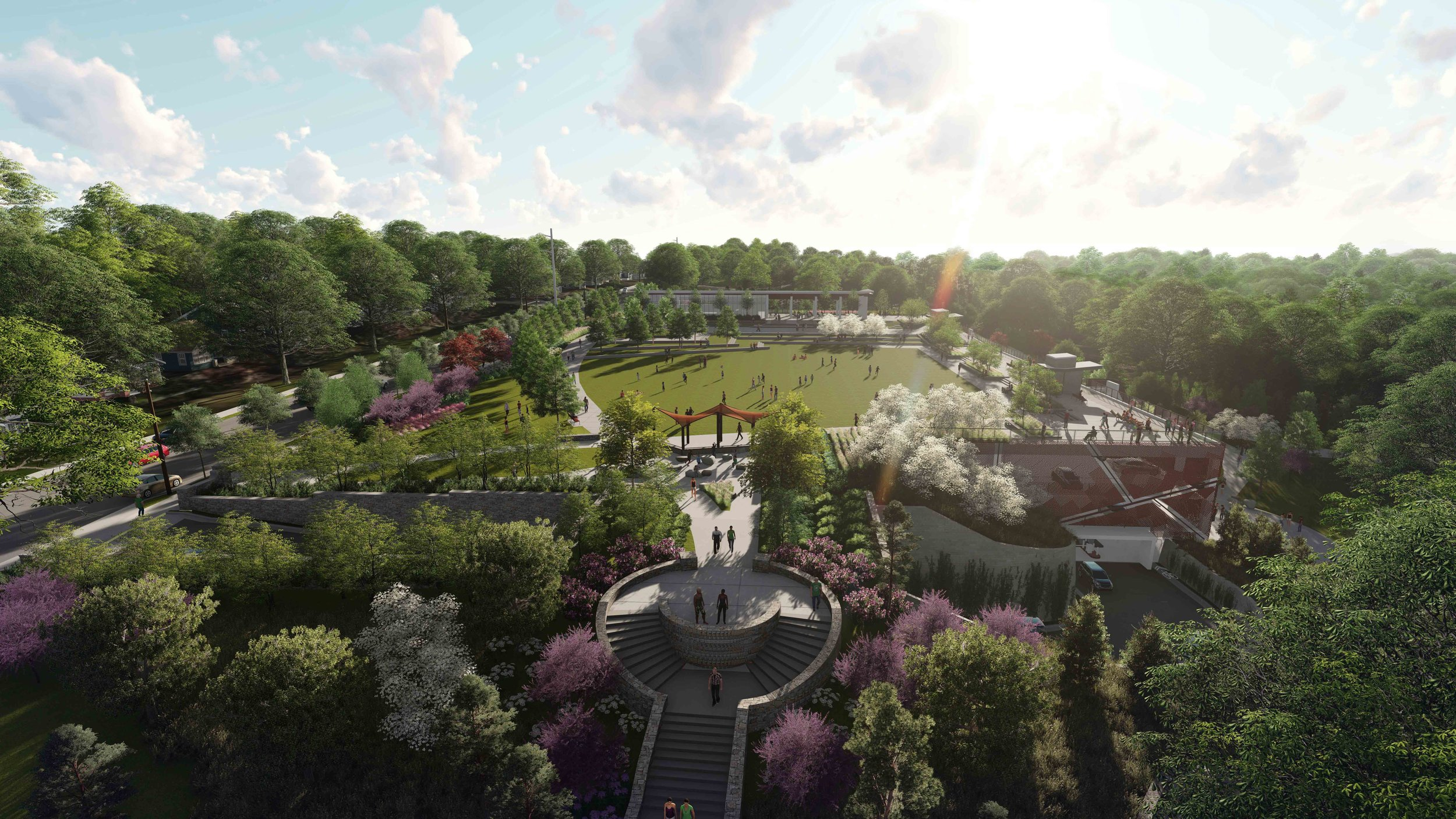 2. Grant Park - Atlanta's Oldest Park with a Stronger Presence, Identity and Sustainbility