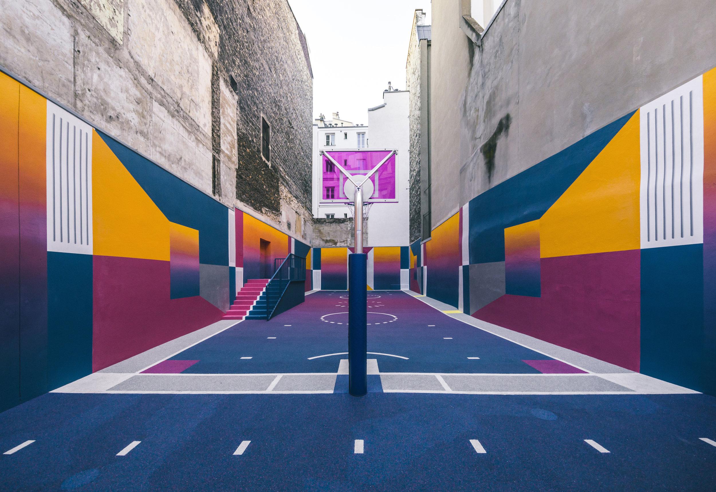 Basketball court Pigalle, Paris