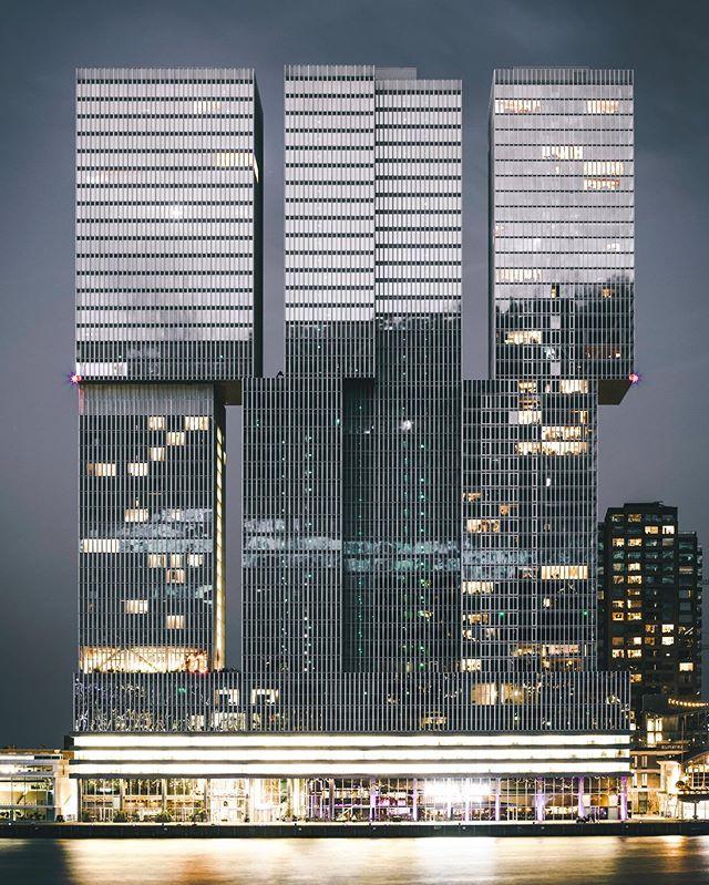 De Rotterdam by @oma.eu 🏙