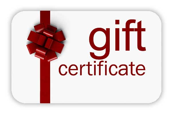 Give the gift of a Happy Body Gift Certificate for any occasion!  Select the image above to send your gift instantly or give us a call or email to have a gift card prepared and mailed to you or your recipient!