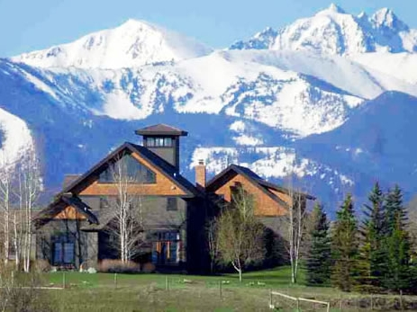 Gallatin County's Majestic Views and Magnificent Realty. -