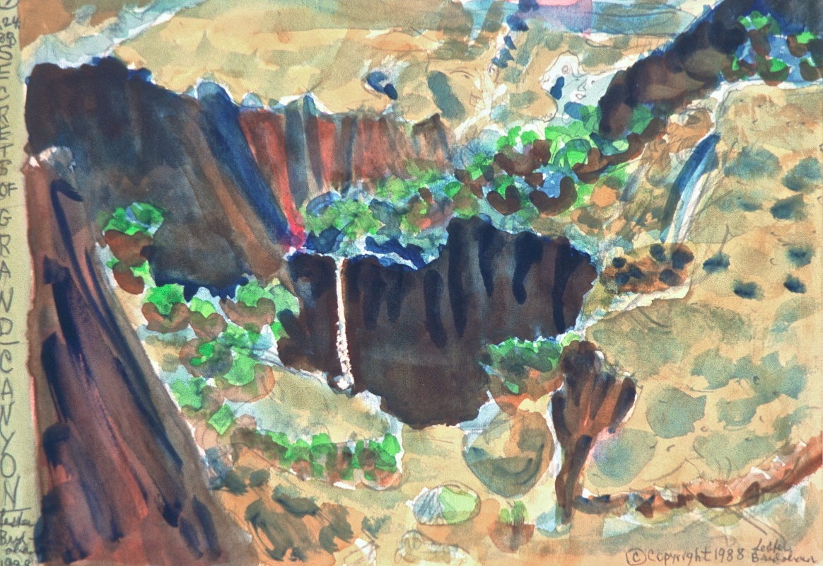 My Secrets of the Grand Canyon, Spring, 3-24-88