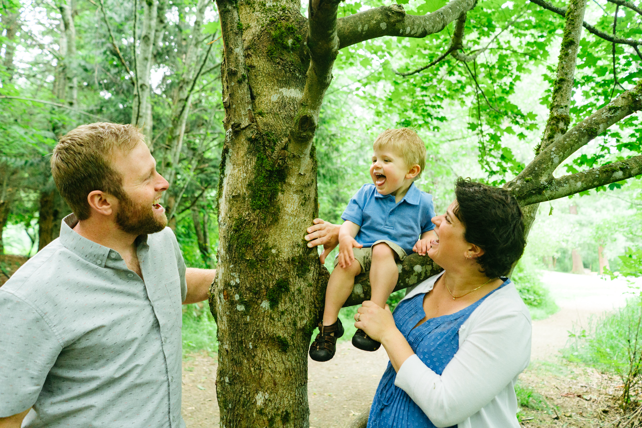 Family Photography at Clark Lake Park in Kent, Washington