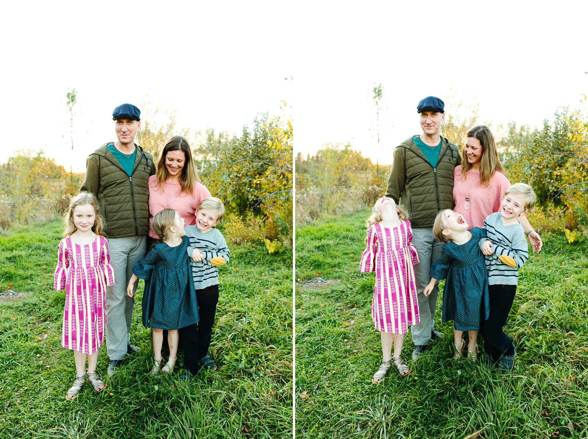 Olympia Area Fall Family Mini Sessions In An Apple Orchard