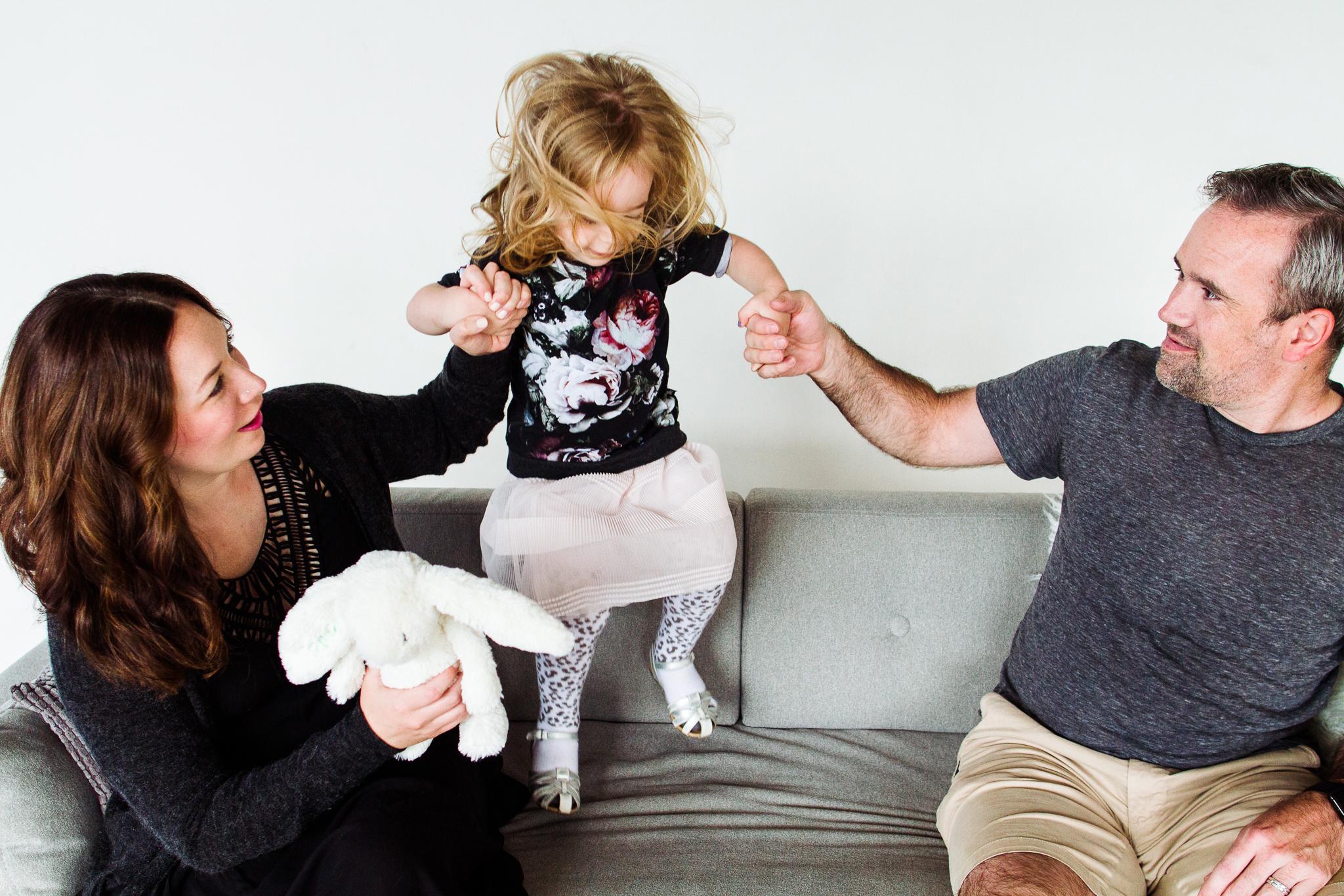 Modern Family Portrait Studio in Seattle