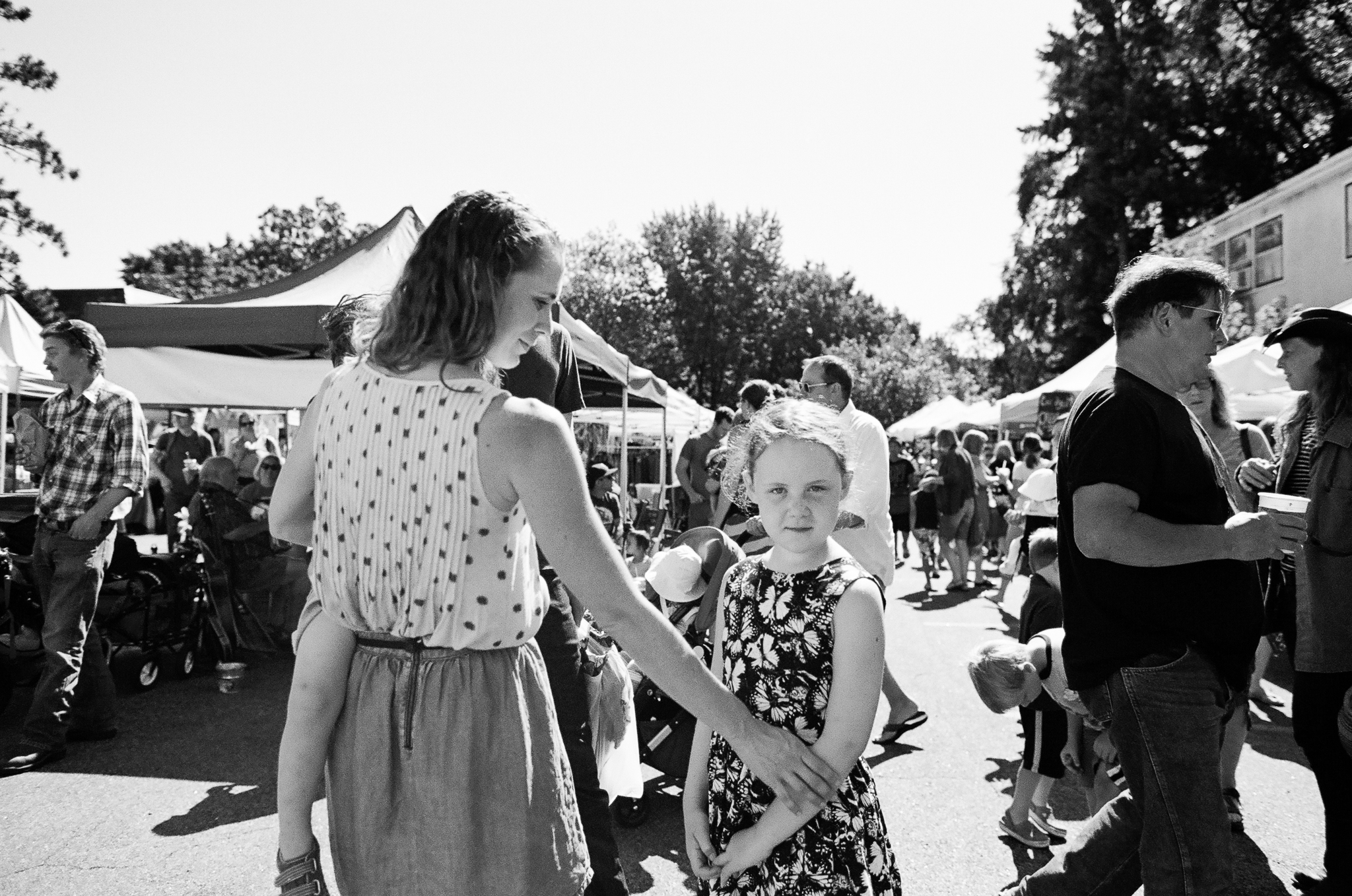 Queen Anne Farmer's Market Family Photos
