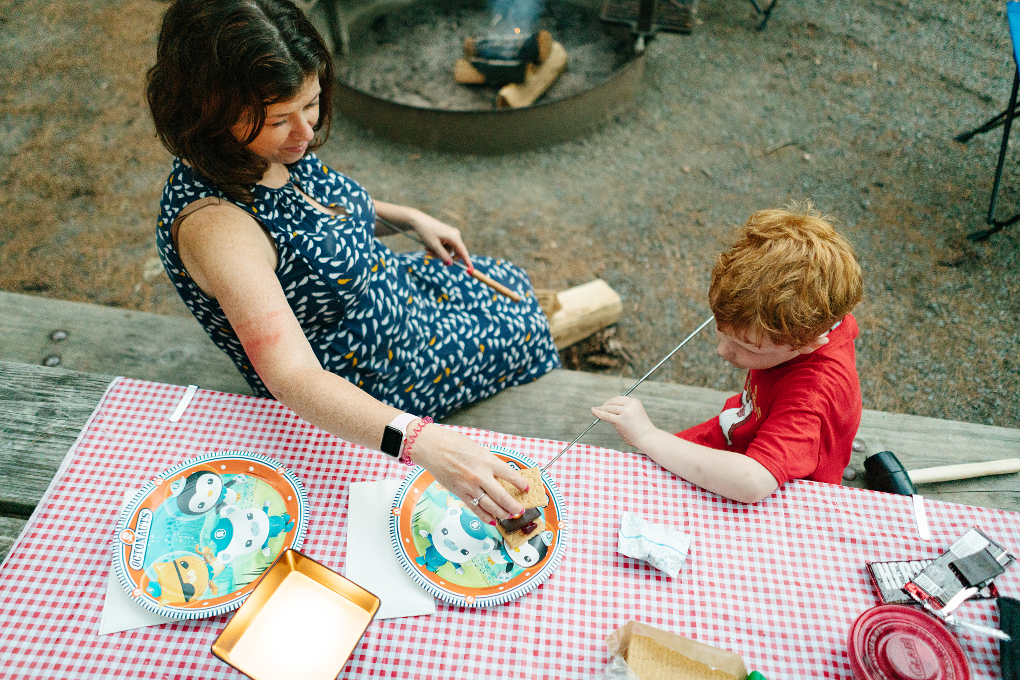 Seattle Family Camping Adventure Photography